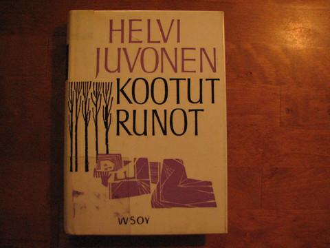 Kootut runot, Helvi Juvonen