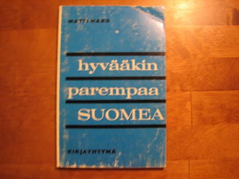 Hyvääkin parempaa suomea, Matti Hako