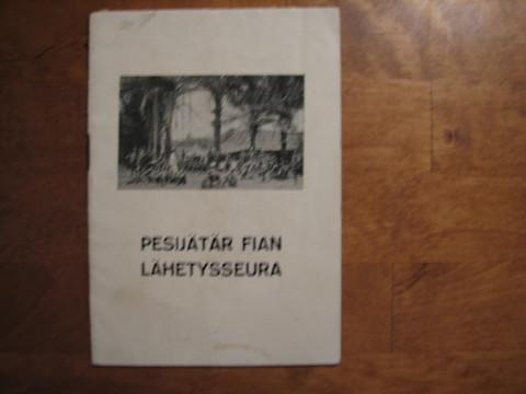 Pesijätär Fiian lähetysseura