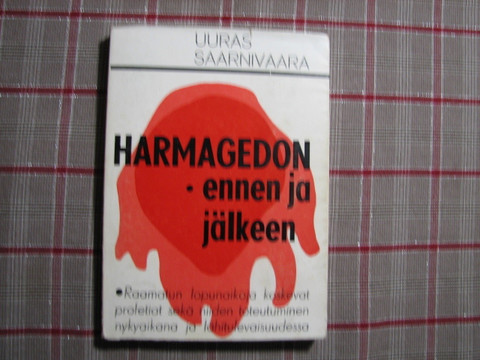 Harmagedon, ennen ja jälkeen, Uuras Saarnivaara