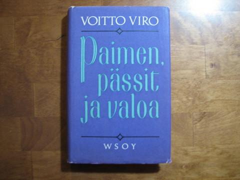 Paimen, pässit ja valoa, Voitto Viro