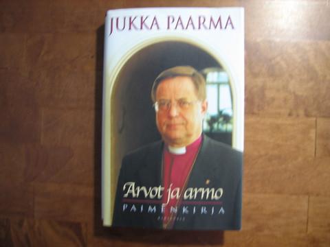 Arvot ja armo, paimenkirja, Jukka Paarma