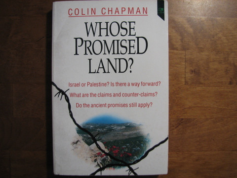 Whose promised land, Colin Chapman