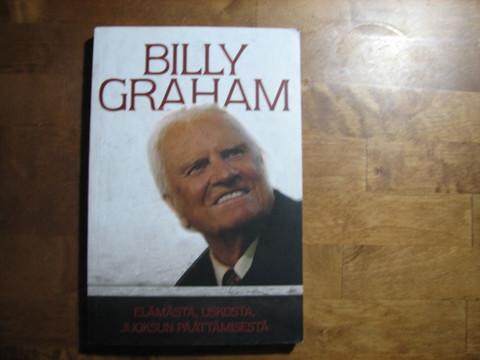 Elämästä, uskosta, juoksun päättämisestä, Billy Graham