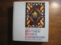 Complete and unabridged Matthew Henry´s commentary on the whole Bible