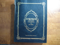 Strong´s Exhaustive Concordance of The Bible with Greek and Hebrew Dictionaries, James Strong