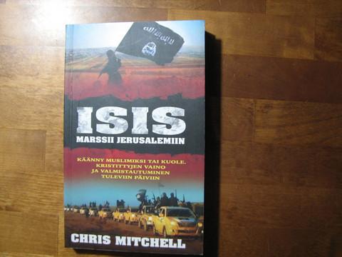 Isis marssii Jerusalemiin, Chris Mitchell
