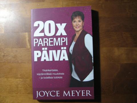 20 x parempi päivä, Joyce Meyer, d2
