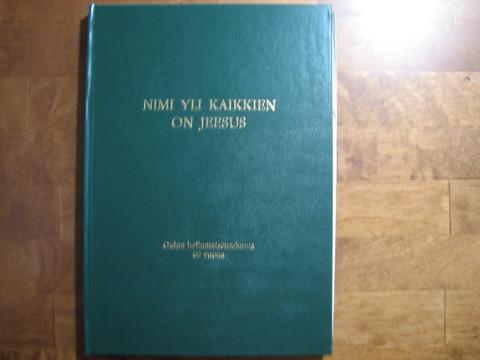 Nimi yli kaikkien on Jeesus, Oulun helluntaiseurakunta 60 vuotta