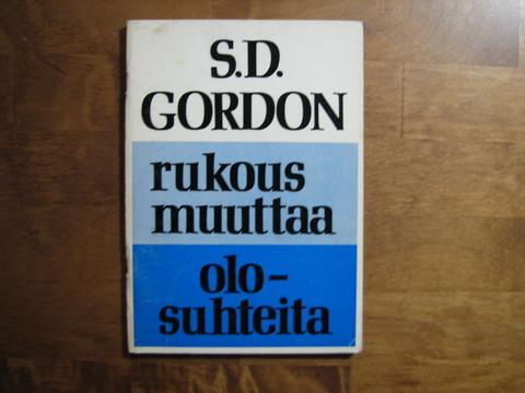 Rukous muuttaa olosuhteita, S.D. Gordon