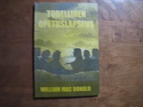 Todellinen opetuslapseus, William Mac Donald