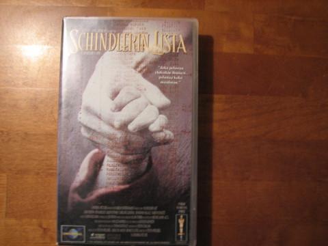 Schindlerin lista, VHS
