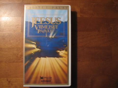 Jeesuksen viimeiset päivät, VHS