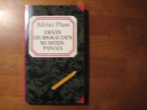 Erään (hurs)kauden muistiinpanoja, Adrian Plass