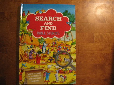 Search and find, Bible Stories, B.A. Jones, Gill Guile