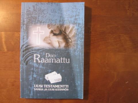 Duo Raamattu, Uusi Testamentti, uusi ja vanha käännös