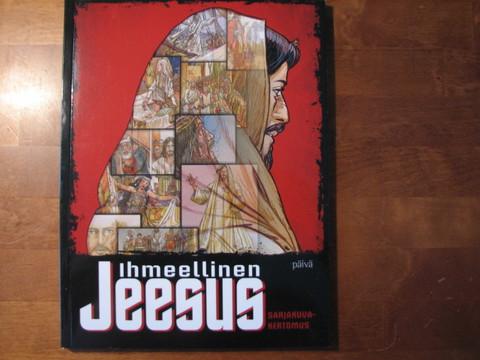 Ihmeellinen Jeesus, sarjakuvakertomus,