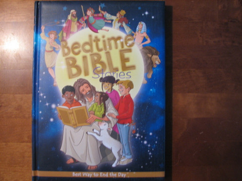 Bedtime Bible stories, Vanessa Carroll