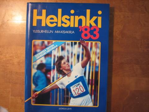 Helsinki ´83 yleisurheilun MM-kisakirja