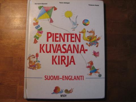Pienten kuvasanakirja, suomi-englanti, Vezio Melegari