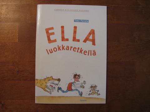Ella luokkaretkellä, Timo Parvela