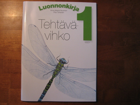 Luonnonkirja 1, tehtävävihko, Anna Maaria Nuutinen, Pirjo Tolvanen