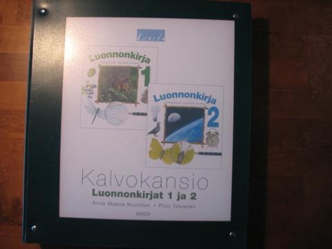 Luonnonkirjat 1-2, kalvokansio, Anna Maaria Nuutinen, Pirjo Tolvanen