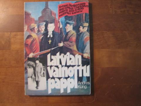 Latvian vainottu pappi, Andres Kung