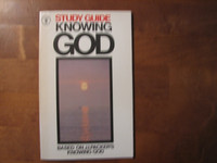 Study guide, knowing God, J.I. Parker