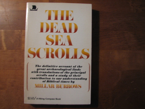 The dead sea scrolls, Millair Burrows
