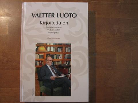 Kirjoitettu on, Valtter Luodon elämä ja työ, Leevi Launonen, d2