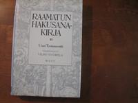 Raamatun hakusanakirja II, Uusi Testamentti, Vilho Vuorela