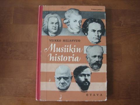Musiikin historia, Veikko Helasvuo