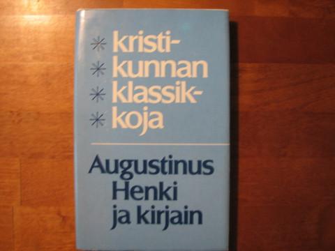 Henki ja kirjain, Augustinus