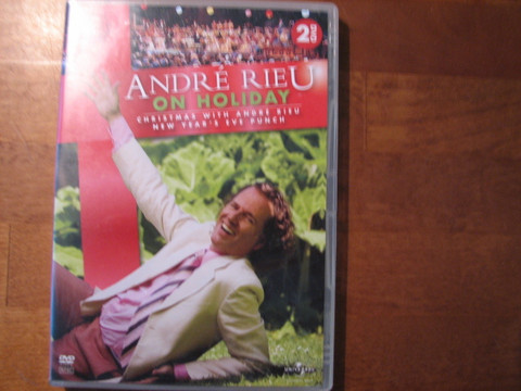 André Rieu on holiday