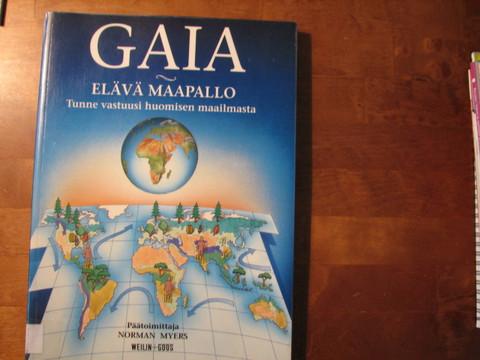 Gaia, elävä maapallo, Norman Myers (päätoim.)