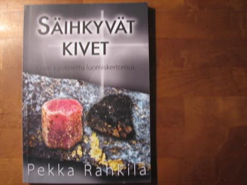 Säihkyvät kivet, kiviin kaiverrettu luomiskertomus, Pekka Rahkila