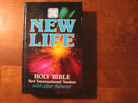 New life, Holy Bible, New International Version with colour features