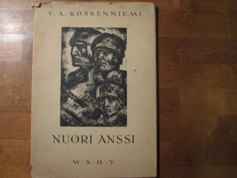 Nuori Anssi, runoelma Suomen sodasta 1918, V.A. Koskenniemi