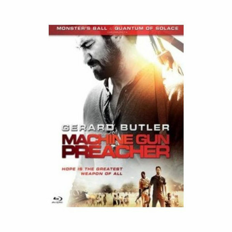 Machine gun preacher DVD