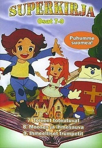 Superkirja, osat 7-9, dvd