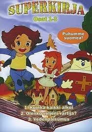 Superkirja, osat 1-3, dvd