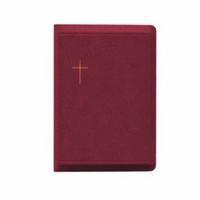 Raamattu, RK, keskikoko, rh, vk, viininpunainen
