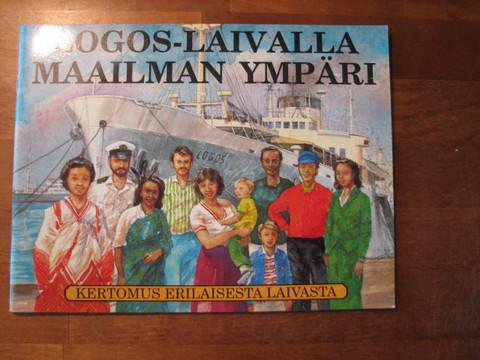Logos-laivalla maailman ympäri, kertomus erilaisesta laivasta, Tim Dowley