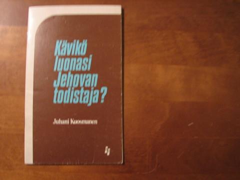 Kävikö luonasi Jehovan todistaja, Juhani Kuosmanen