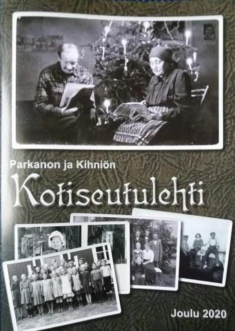 Parkanon ja Kihniön kotiseutulehti, joulu 2020