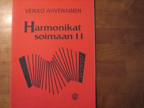 Harmonikat soimaan 11, Veikko Ahvenainen
