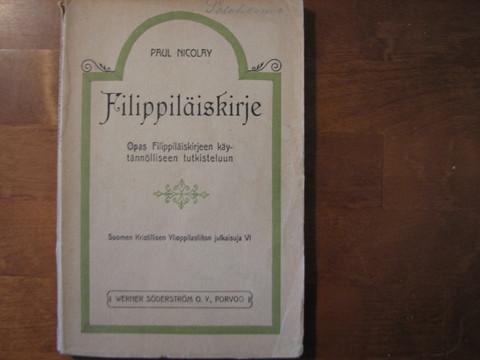 Filippiläiskirje, Paul Nicolay