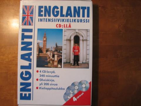 Englanti, intensiivikurssi cd:llä