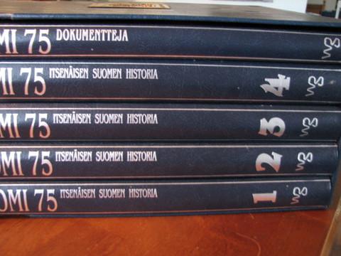 Suomi 75, Itsenäisen Suomen historia 1-4 + dokumentteja